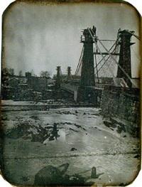 the niagara suspension bridge by platt d. babbitt
