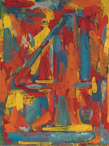 figure 4 by jasper johns