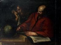 démocrite et héraclite by valerio castello