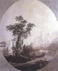 landscape at teresopolis by nicolau antonio facchinetti