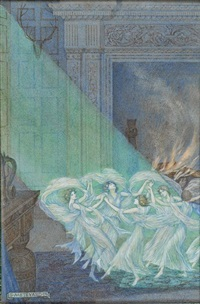 good luck befriend thee song for at thy birth the fairy ladies danced upon the hearth (john milton) by sydney harold meteyard