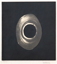 silkscreen (from ten from leo castelli) by lee bontecou