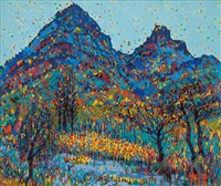 mountain by lee dai-won