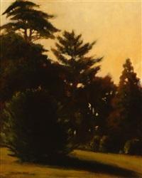 tonalist landscape by bjorn rye