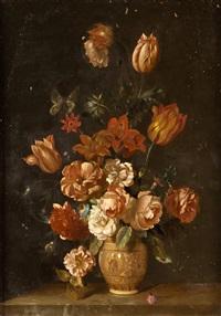 pareja de floreros by flemish school (19)