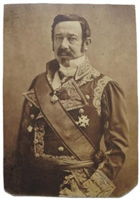maréchal narvaëz, ambassadeur d'espagne by nadar