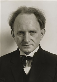 autoportrait by august sander