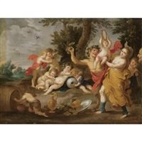 a bacchanal by victor wolfvoet the younger