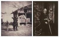 guerre de crimée: major general lockyer, militaire et son cheval 2 by roger fenton