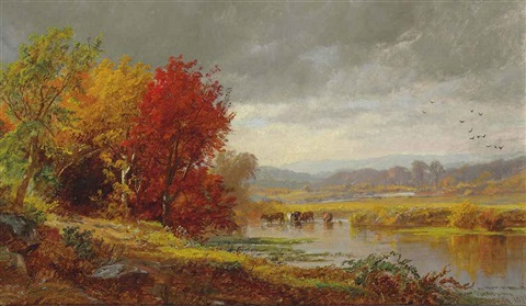 october by jasper francis cropsey