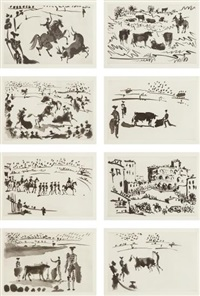 la tauromaquia (set of 26) by pablo picasso