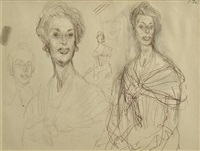 portrait sketches by william dobell