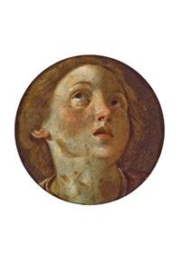 testa di santa by giovanni lanfranco