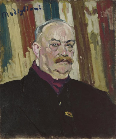 portrait de joseph lévi by amedeo modigliani