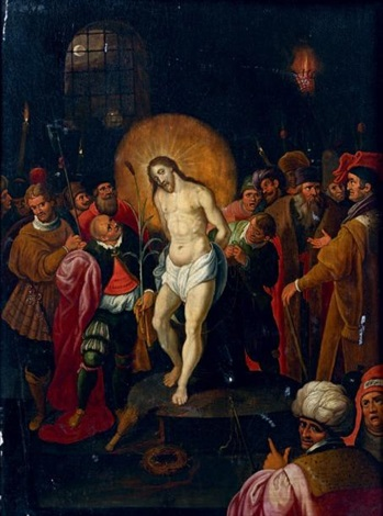 le christ aux outrages by frans francken the younger