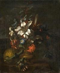 vase de fleurs by karel borchaert voet