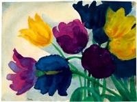 tulpen by emil nolde