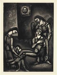 miserere, by editions de l'etoile filante, paris, 1922-27 (set of 58) by georges rouault