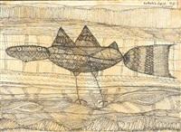 oiseau by farid belkahia