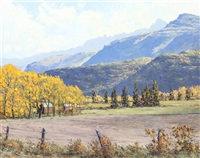 uncompahgre valley by james emery greer