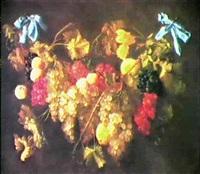 guirlande de fruits by w. mertens