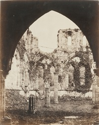 five views of ruins (5 works) by roger fenton