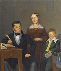 biedermeier-familienporträt by sebastian gutzwiller