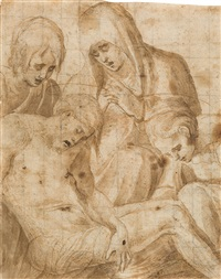 pietà by french school-fontainebleau (16)