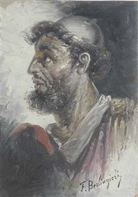 profile of a man by f. berlingieri