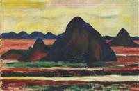 new mexico by marsden hartley