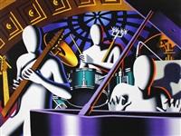 jazz in the hudson by mark kostabi