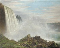 niagara falls by ferdinand reichardt