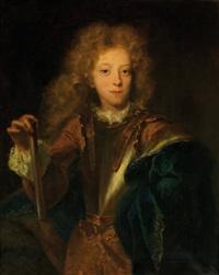 portrait de crequy de bonne, duc de lesdiguière by rigaud