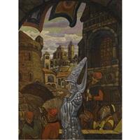 fairy tale by svetoslav nikolaevich roerich