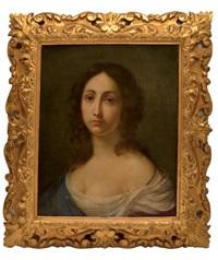 jeune femme en buste by lorenzo lippi