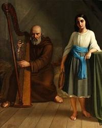 mignon og harpespilleren by wenzel ulrik tornoe