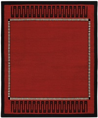 carpet, model no. 3207nr by émile jacques ruhlmann