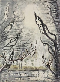 yearning by charles ephraim burchfield