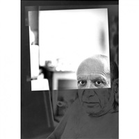 pablo picasso, cannes by andré villers