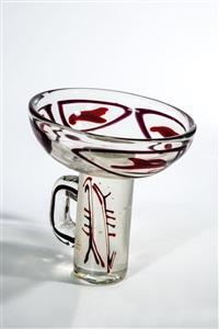vasenobjekt (design by e. pignon) by ermanno nason