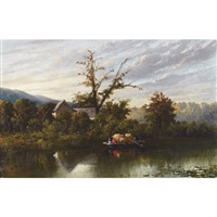 on the richelieu river by william raphael