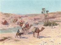 a caravan in algeria by josé alsina
