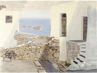 view of skyros by costas grammatopoulos