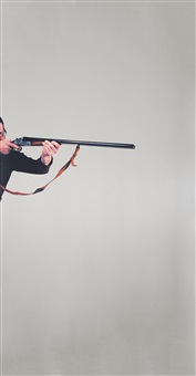 uomo che spara (l'agguato) by michelangelo pistoletto