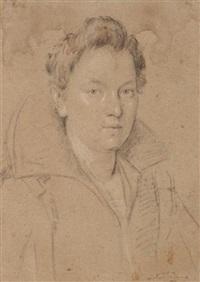 portrait de femme by ottavio maria leoni