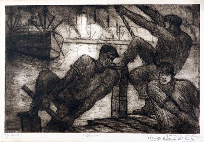 obreros by benito quinquela martín