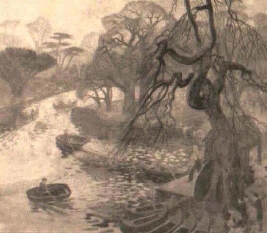 the boating lake by john e nicholls