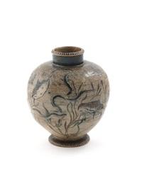 aquatic vase by robert wallace martin