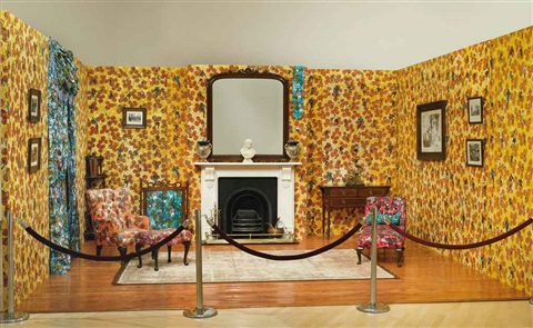 victorian philanthropists parlor by yinka shonibare mbe