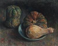 南瓜 (still life- pumpkin) by zhou bichu
